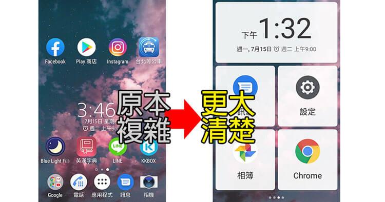 簡易模式app