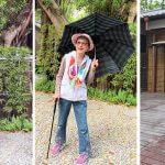 銀髮一起玩手杖傘