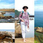 大坪海岸海豹石